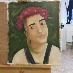portrait painting in oils workshop yardley arts