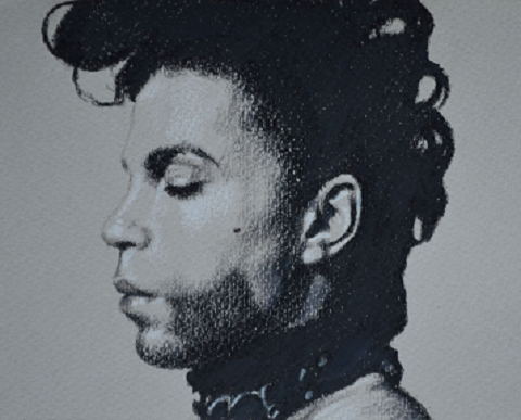 Drawing portrait Prince