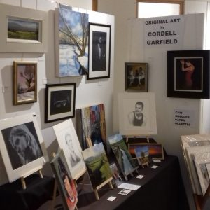 Cordell Garfield Art Stall Abington Park Museum Christmas Fair