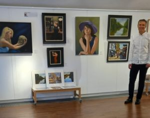 Cordell Garfield Paintings for sale at Northampton Central Museum